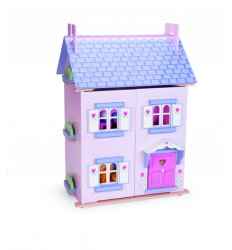 Le Toy Van Dolls House - Bellas House with Furniture -
