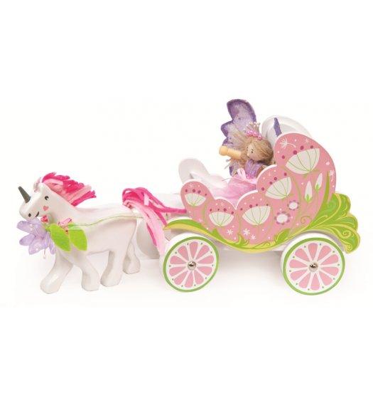 Le Toy Van Fairy Carriage & Unicorn - TV642
