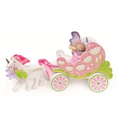 Le Toy Van Fairy Carriage & Unicorn - TV642