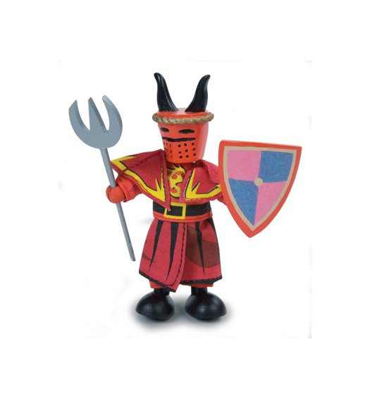Le Toy Van Budkins - Rhys the Red Knight - BK964
