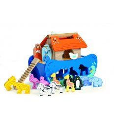 Le Toy Van Noah's Ark Shape Sorter - TV212