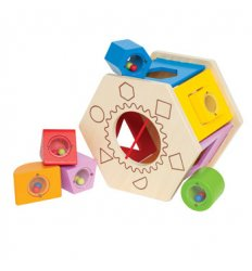 HAPE Shake and Match Shape Sorter -