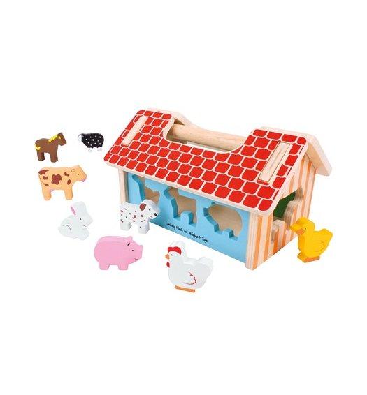 Bigjigs Farmhouse Shape Sorter - BB064