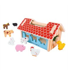Bigjigs Farmhouse Shape Sorter - BB064