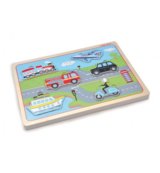 Indigo Jamm Transport Sound Puzzle - IIJ9054