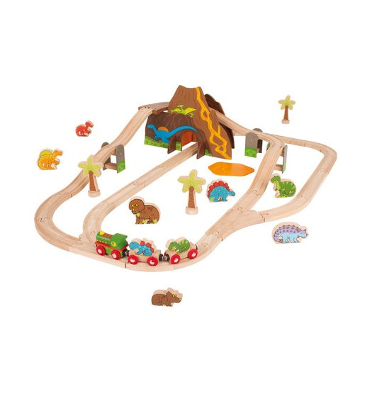 Bigjigs Dinosaur Train Set - BJT035