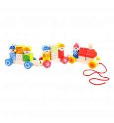 Bigjigs Build Up Train -
