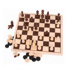Bigjigs Draughts & Chess Set -