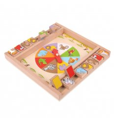 Bigjigs Animal Shut The Box -