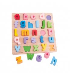 Bigjigs Chunky Alphabet Puzzle (lower Case) abc - BJ106