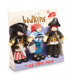 Le Toy Van Budkins Gift Pack - Pirates -