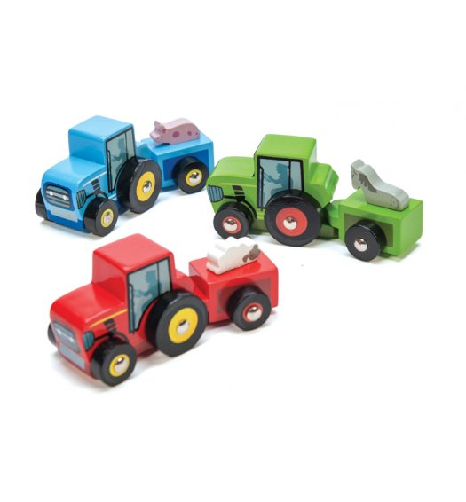 Le Toy Van Tractor Trails - TV806