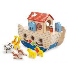 Indigo Jamm Noah's Wooden Ark -