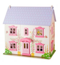 Bigjigs Heritage Playset Rose Cottage -