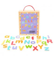 Bigjigs Wooden Magnetic Letters -