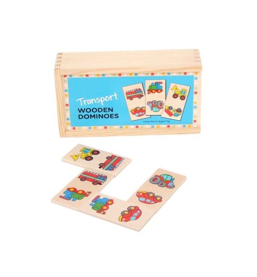 Bigjigs Transport Dominoes - BJ738