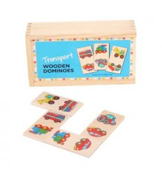 Bigjigs Transport Dominoes -