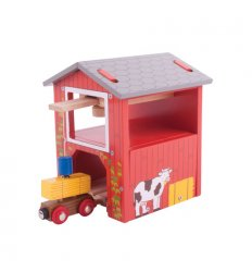 Bigjigs Farm Hay Barn -