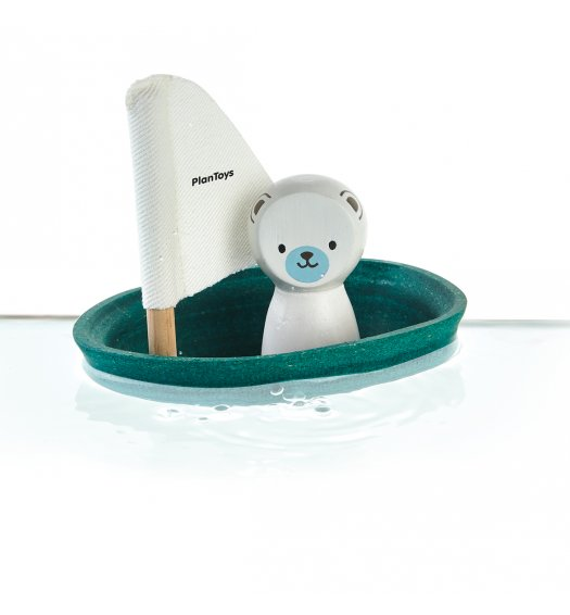 PlanToys Sailing Boat - Polar Bear - 5712