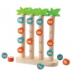 PlanToys Monkeys in a row -