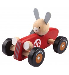 PlanToys Rabbit Racing Animal Car -