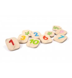 PlanToys Braille Numbers -