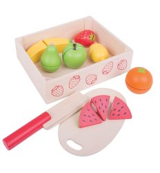 Bigjigs Cutting Food - Fruit Crate -
