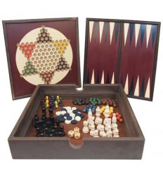 5 in 1 Wooden Game Set -