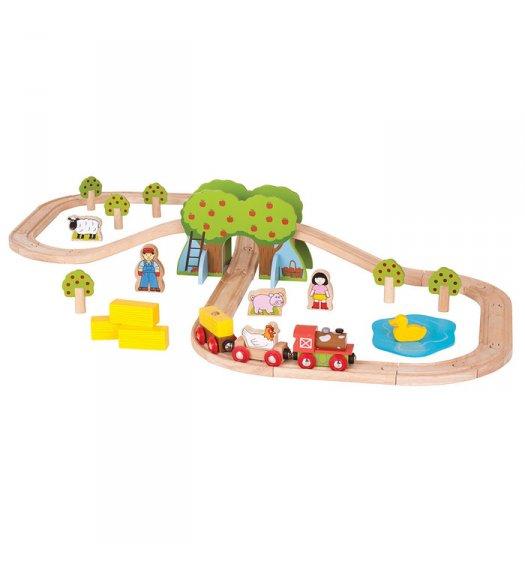 Bigjigs Farm Train Set - BJT036