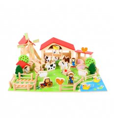 Bigjigs Wooden Play Farm - BJ415