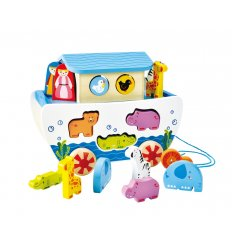 HAPE Noah's Ark - NEW Pull along from HAPE - E8049