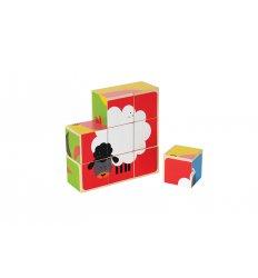 HAPE Farm Animal Blocks Puzzle - E0422
