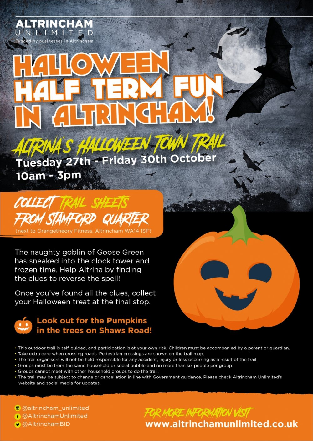 Halloween Fun in Altrincham