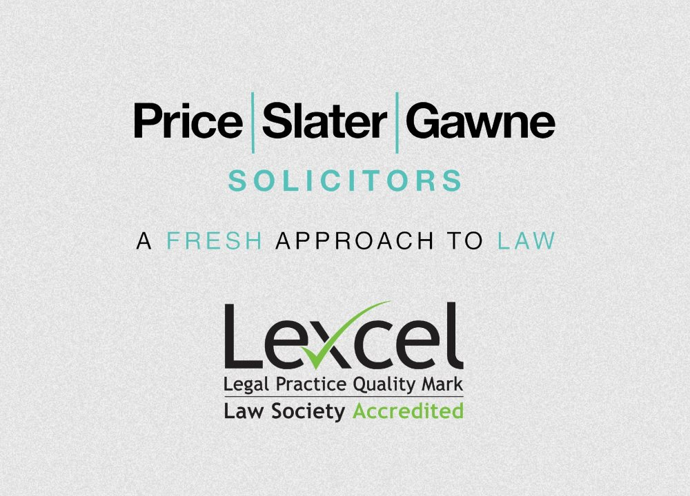 Price Slater Gawne continues to maintain an excellent Lexcel standard