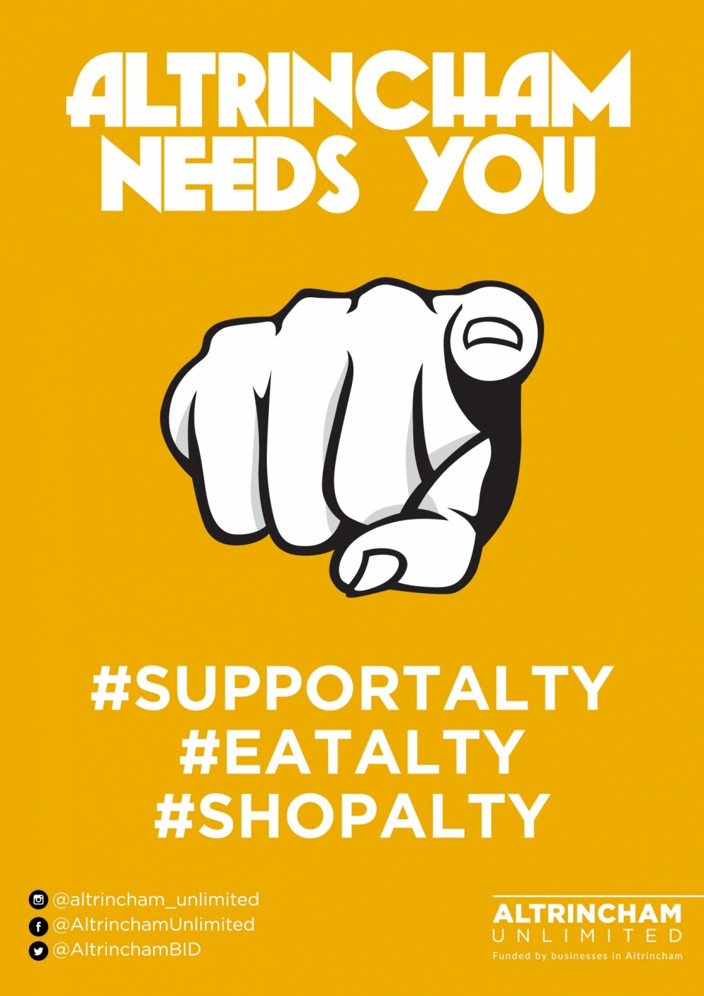 Altrincham businesses launch #SupportAlty Campaign