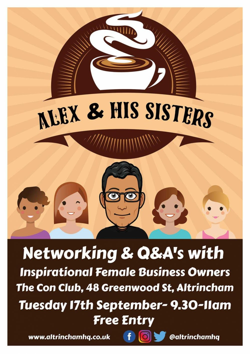 Alex & his Sisters - Networking
