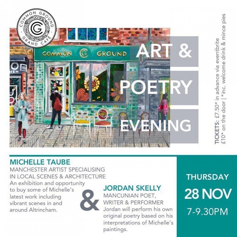 Art & Poetry Evening