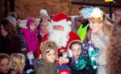 Santa In Altrincham 2016