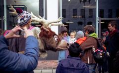 Svend The Reindeer From Frozen In Altrincham