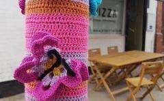 Yarn Bomb Butterfly