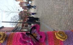 Yarn Bomb Butterfly2