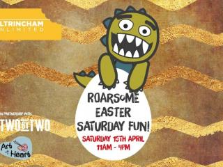 Roarsome Easter Dino Day