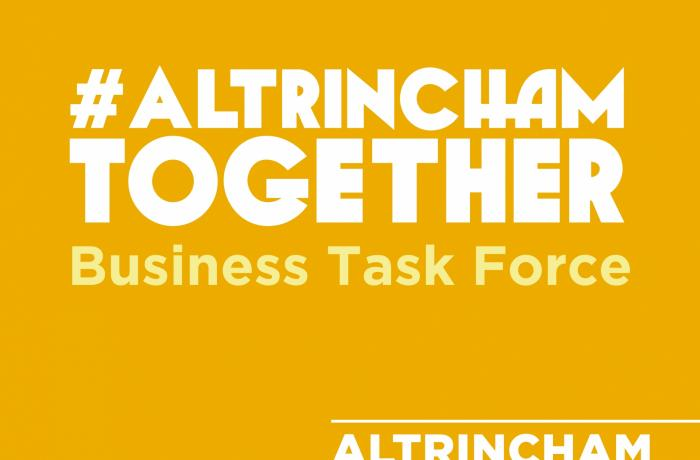 #AltrinchamTogether  Business Task Force  launched by Altrincham BID