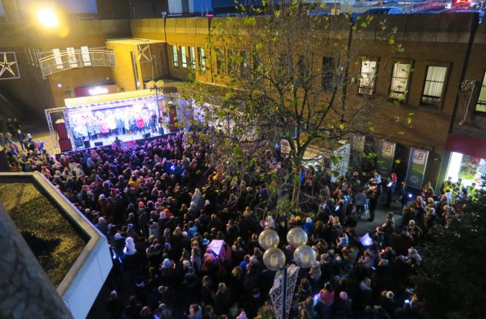 Christmas Star Louise to light up Altrincham