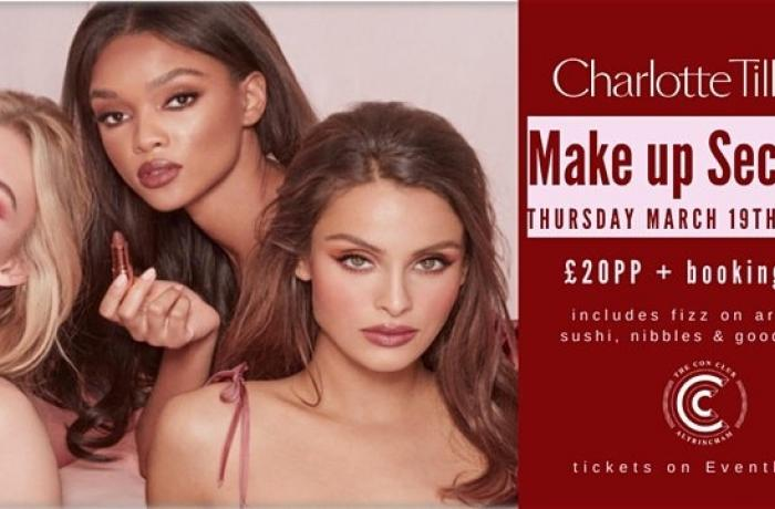 Charlotte Tilbury Make Up Masterclass