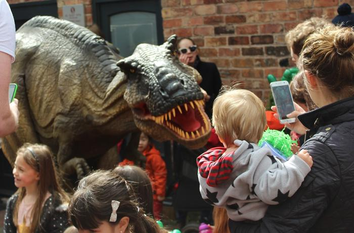 Kings Court Dino Day is 'roarsome' success!