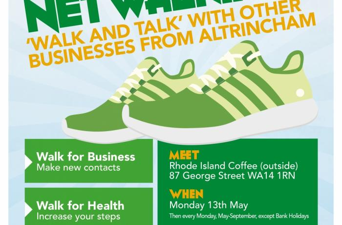 Altrincham Unlimited launch weekly lunchtime networking walks – 'Netwalking'