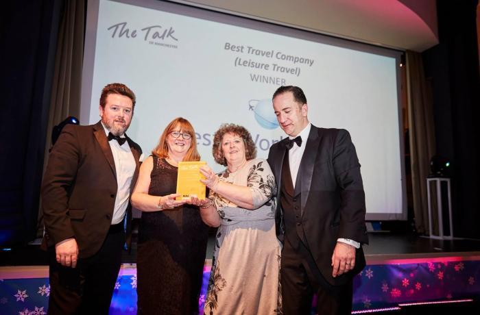 Cresta World Travel scoop Manchester Travel Award