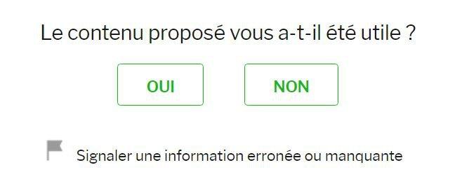 Santé.fr feedback