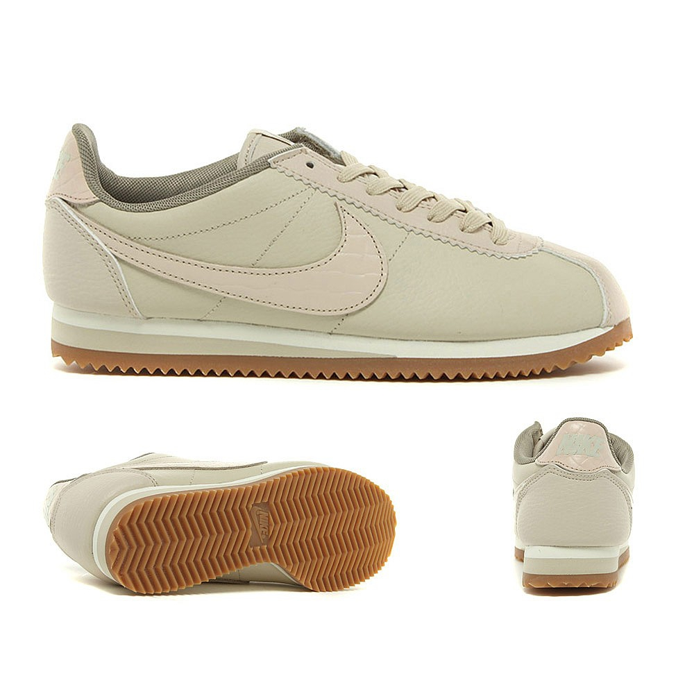 brand new 89cd7 7ee19 Nike Womens Classic Cortez Leather Lux Trainer - Amaliah